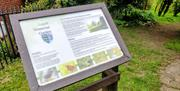 Leech Memorial Garden Sign (Maldon Town Council)
