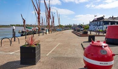 The Hythe Quay Maldon March 2021