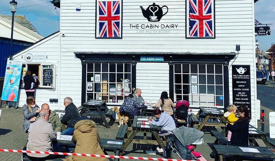 The Cabin Dairy Cafe and Tea Rooms