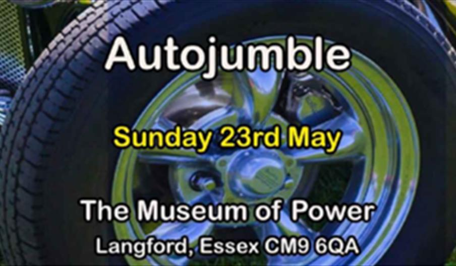 museum of power auto jumble poster